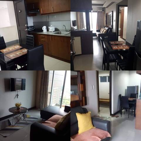 2 beds 1 bath with terrace and nice view