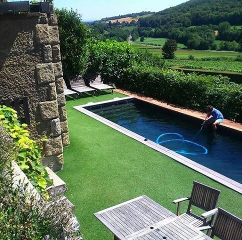 maison village au coeur du vignoble de Bourgogne