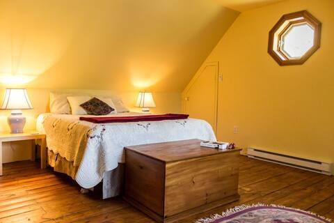 Mont-Tremblant - grande chambre et salon !