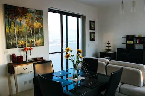 Penthouse med terrasse i Qala Gozo