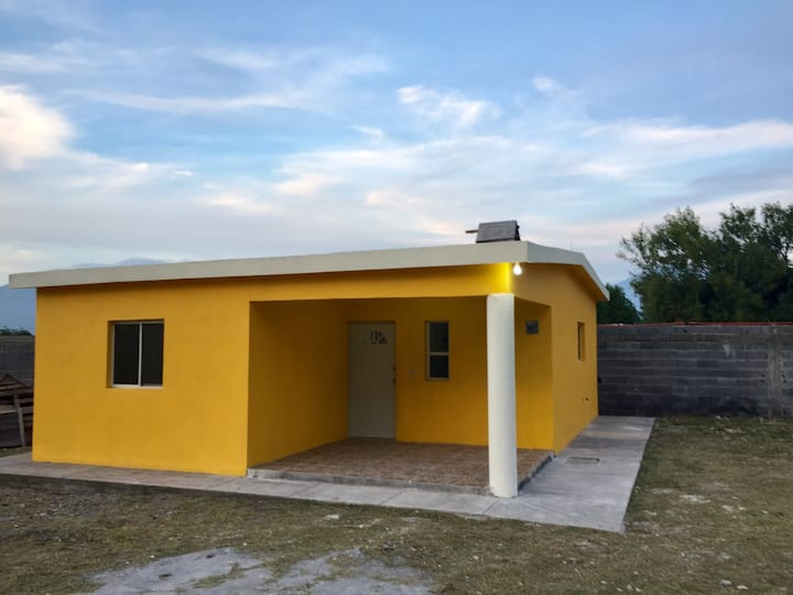 House with 2 bedrooms, kitchen, 1 bathroom & WIFI.