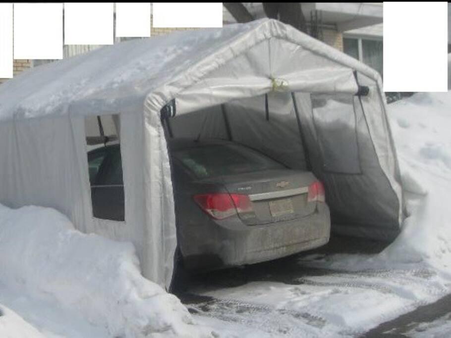 Free Winter Shelter Parking