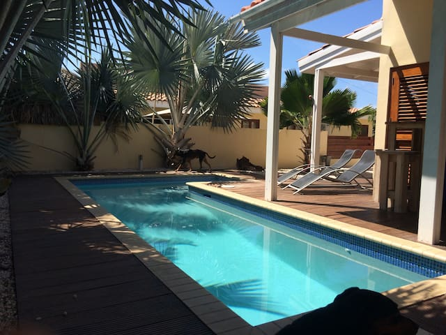 Mooie vakantiewoning met zwembad - Willemstad - บ้าน