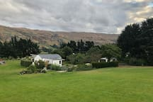 Beautifully set in the Teviot Valley. The owners residence is at the left of this photo.
