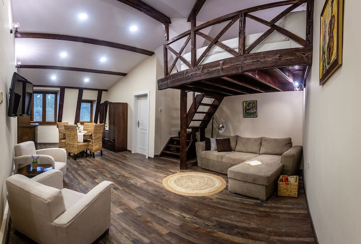 Central Loft Cosy Studio in the Heart of Plovdiv