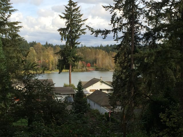 Lake View Chalet - Woodinville - Muu