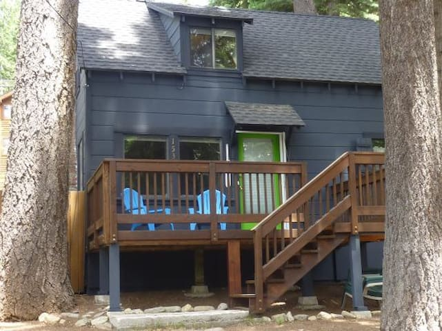 One Dog Welcome~Gated Lake Access West Shore Cabin
