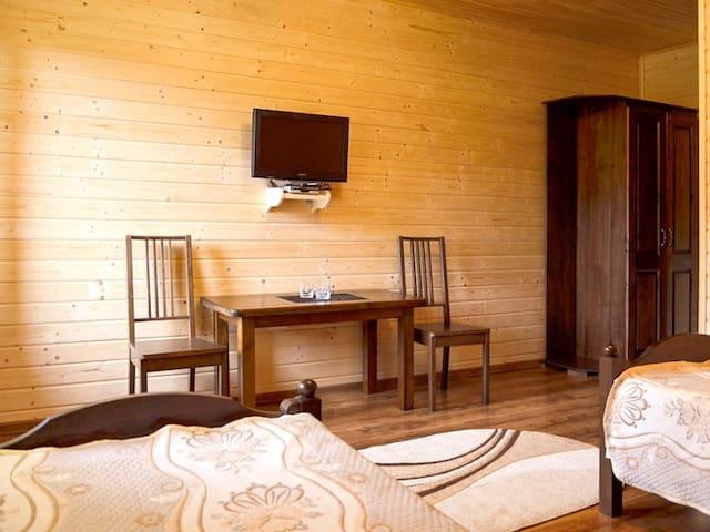 Стандартный двухместный номер с 1 кроватью или 2 отдельными кроватями. Villa Leku Bukovel