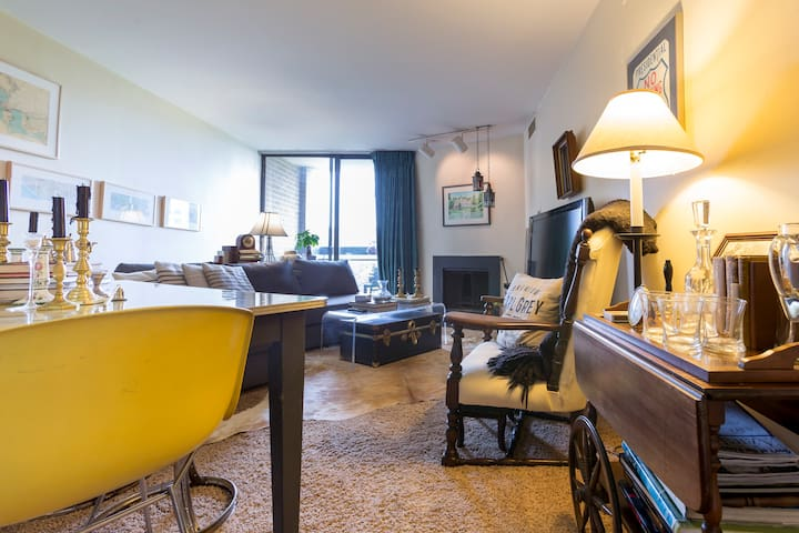 Cozy apartment near Kennedy Center - Washington - Wohnung