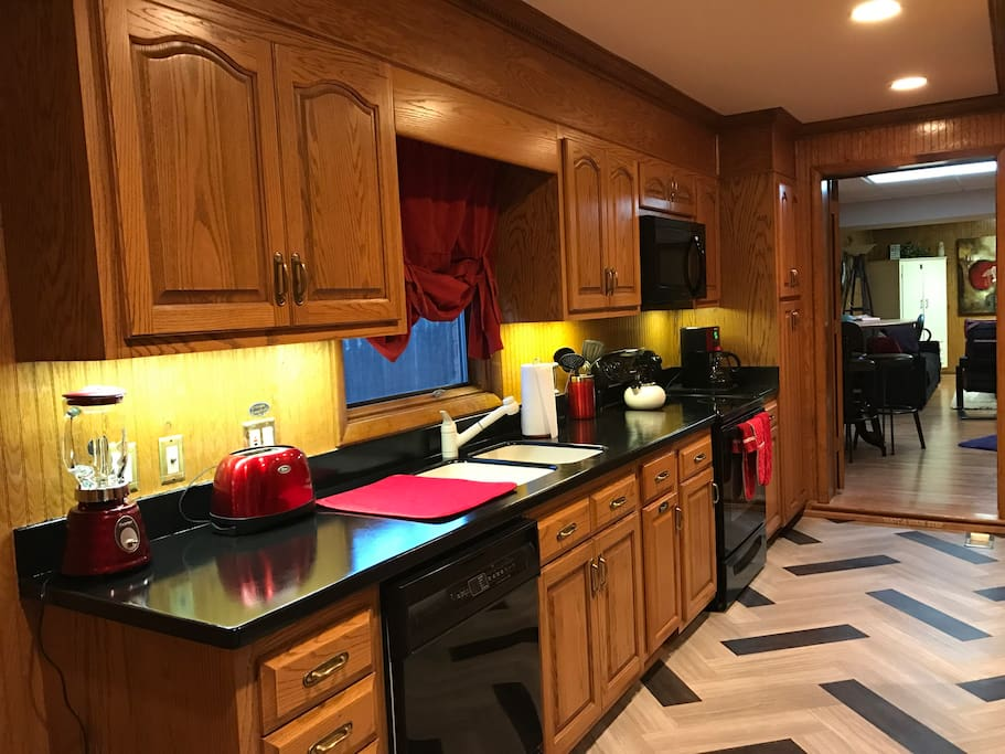 Full Galley, newly remodeled Kitchen.