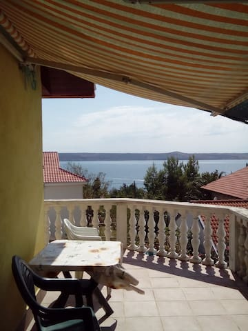 Nice apartment with sea view - Jasenice - Apartment