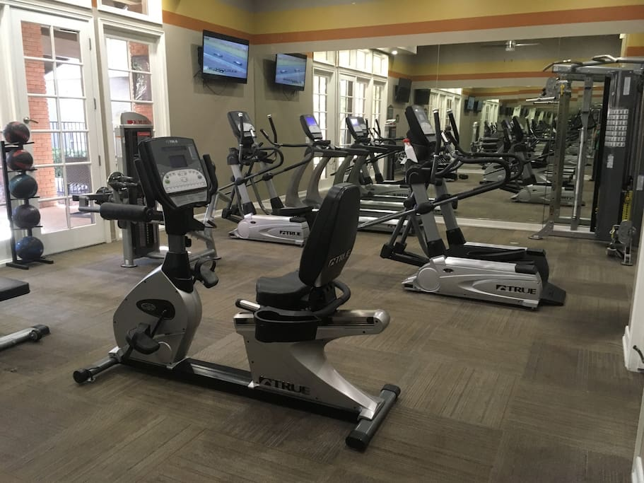 Gym in clubhouse