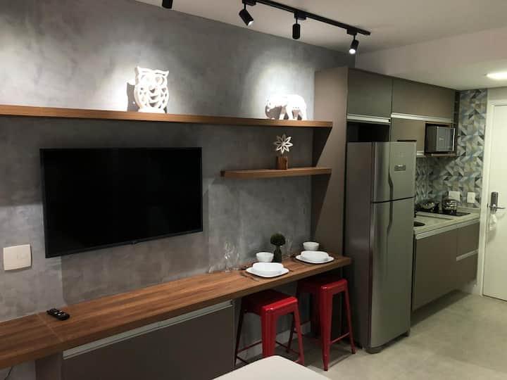Studio Completo Próximo ao metro Anhangabaú