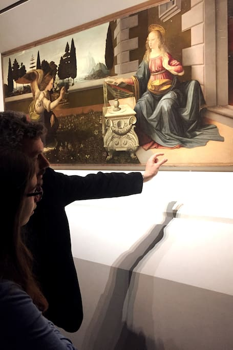 "The ""sfumato"" technique by Leonardo:"