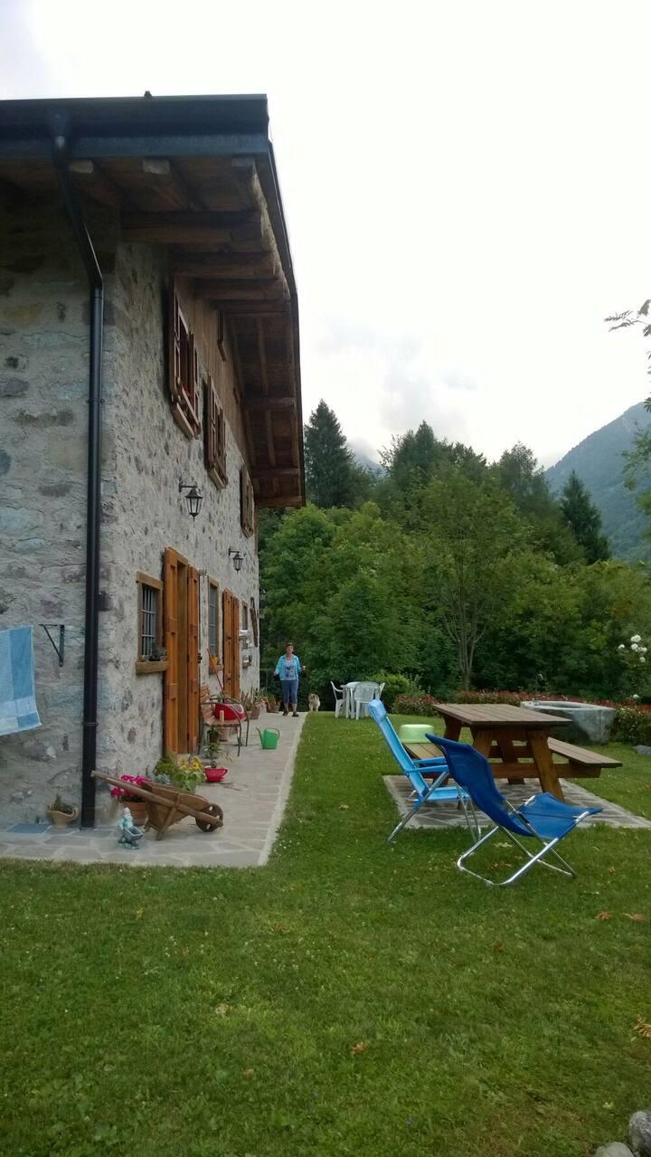 Appartamento autonomo in casale di montagna