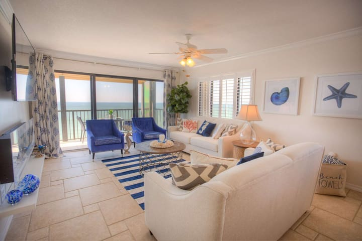 Spectacular Corner Unit Condo.  Spectacular Beach.  Modern and Comfortable Design Throughout.