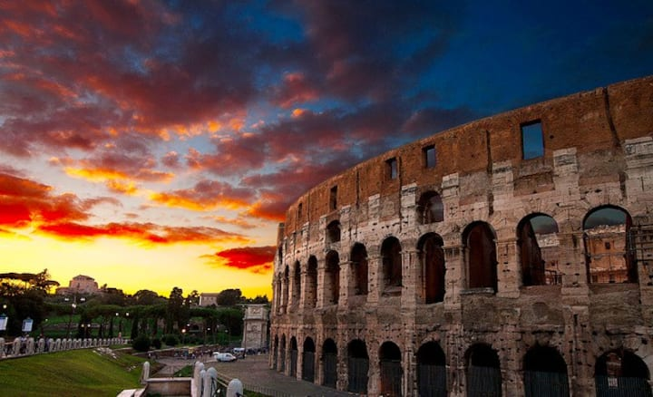 THE COLOSSEUM'S BEAT