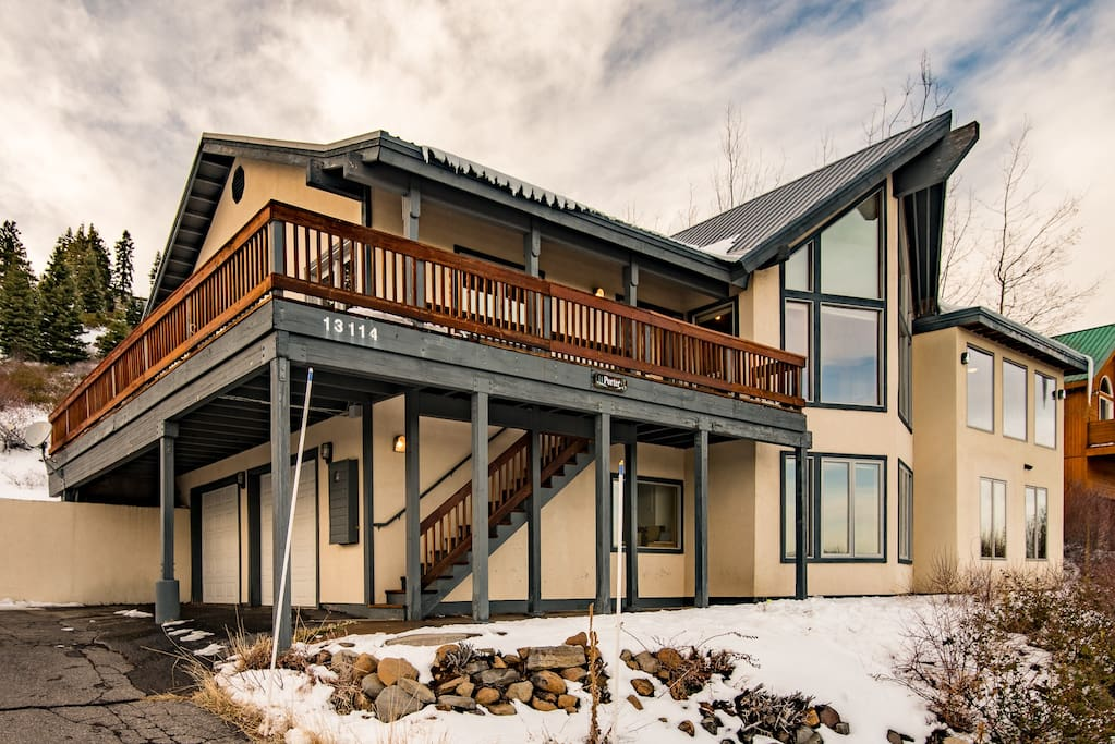 Chalet-style architecture makes this home a true gem in Tahoe Donner.