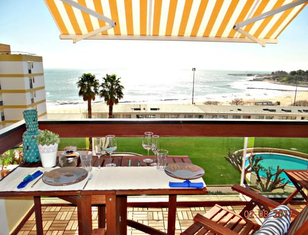 Fantastic ap in a private BEACH Condo - Oeiras - Huoneisto