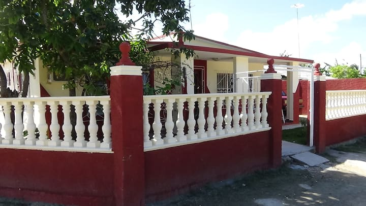 "Gästehaus "" Villa del Sol ""  Playa Santa Lucia"