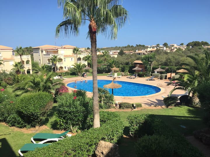 STYLISH FLAT WITH POOL IN CALA ANGUILA