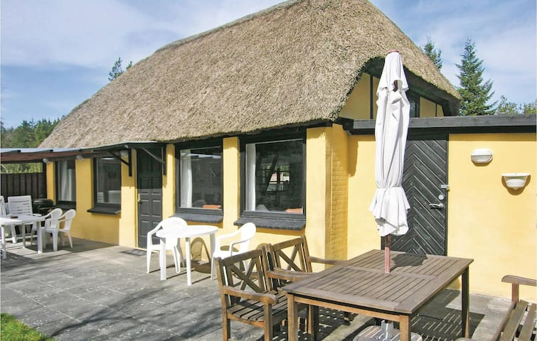 Holiday cottage with 4 bedrooms on 92 m² in Hadsund