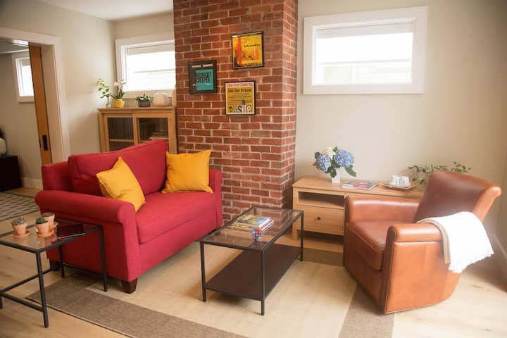 Cole Valley Sunny & Airy Private 1BR Suite+Patio