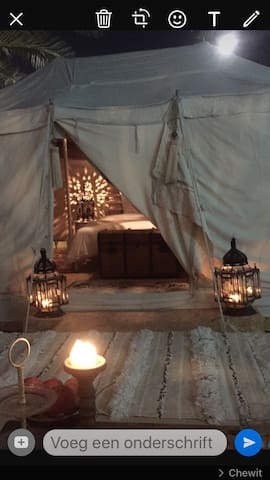 Nice and cosy room in desert tent in Jumeirah 1 - Dubai - Tent