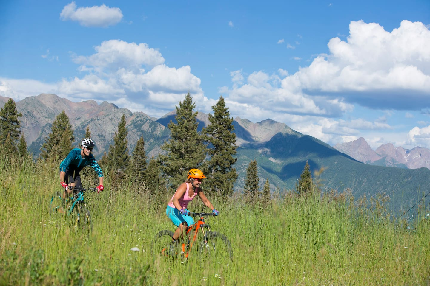 Purgatory Mtn has a comprehensive network of summer hiking and mountain biking trails.