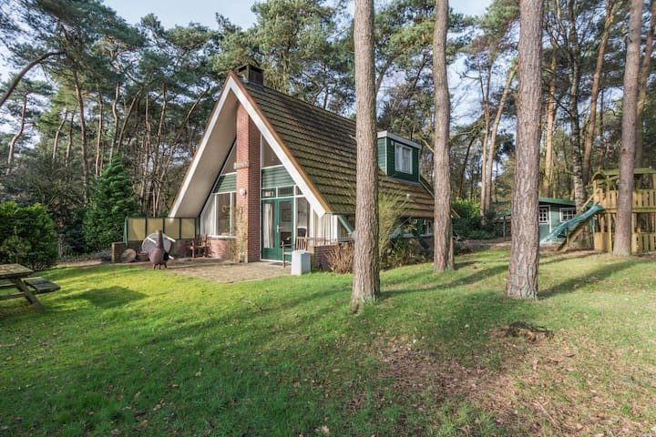 Vakantiehuis in de bossen op Park de Kievit - Baarle-Nassau - Talo