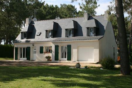 Location Gîte Morbihan Ria d'Etel - Locoal-Mendon - Huis