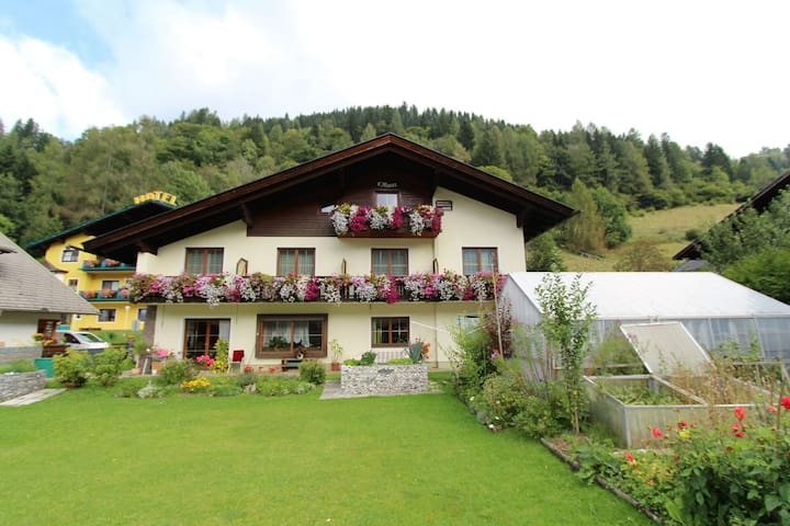 Spacious apartment within walking distance of the lifts of the Bad Kleinkirchheim skiing area
