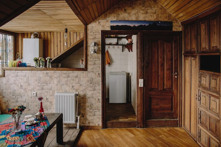 Wooden Loft in the middle of Tbilisi