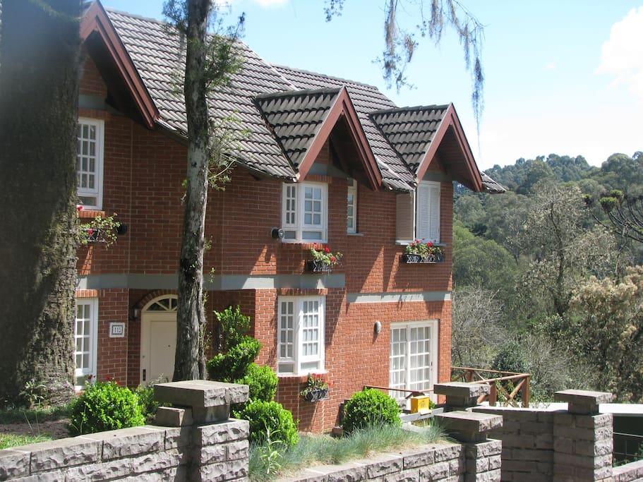 Casa vista lateral