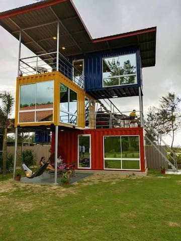 Star Ocean Deluxe Beachfront Container Room - 3F