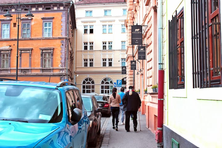 Charming, small flat in the heart of Sibiu - Sibiu - Apartamento