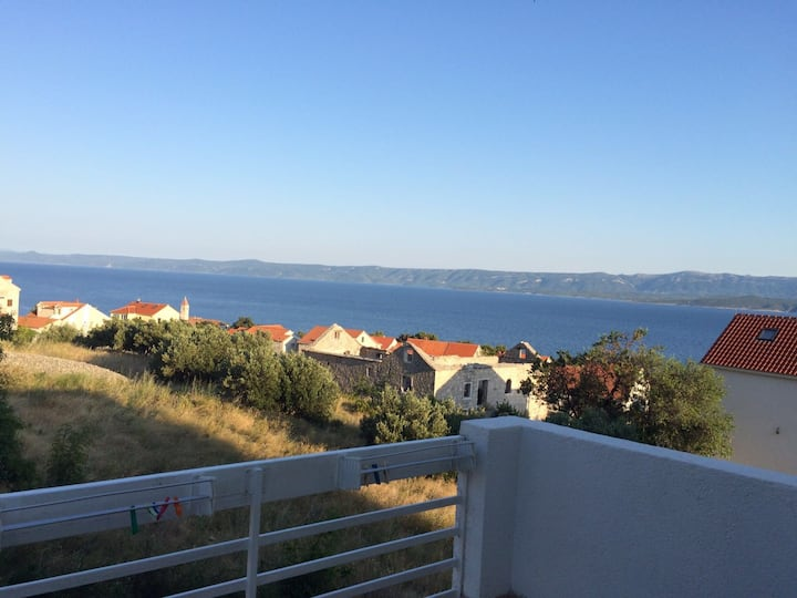 Great view from Radoš apartmants!