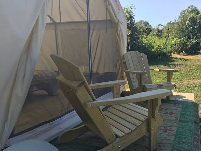 Tentrr Signature Site - Wooded Winery Wonderland