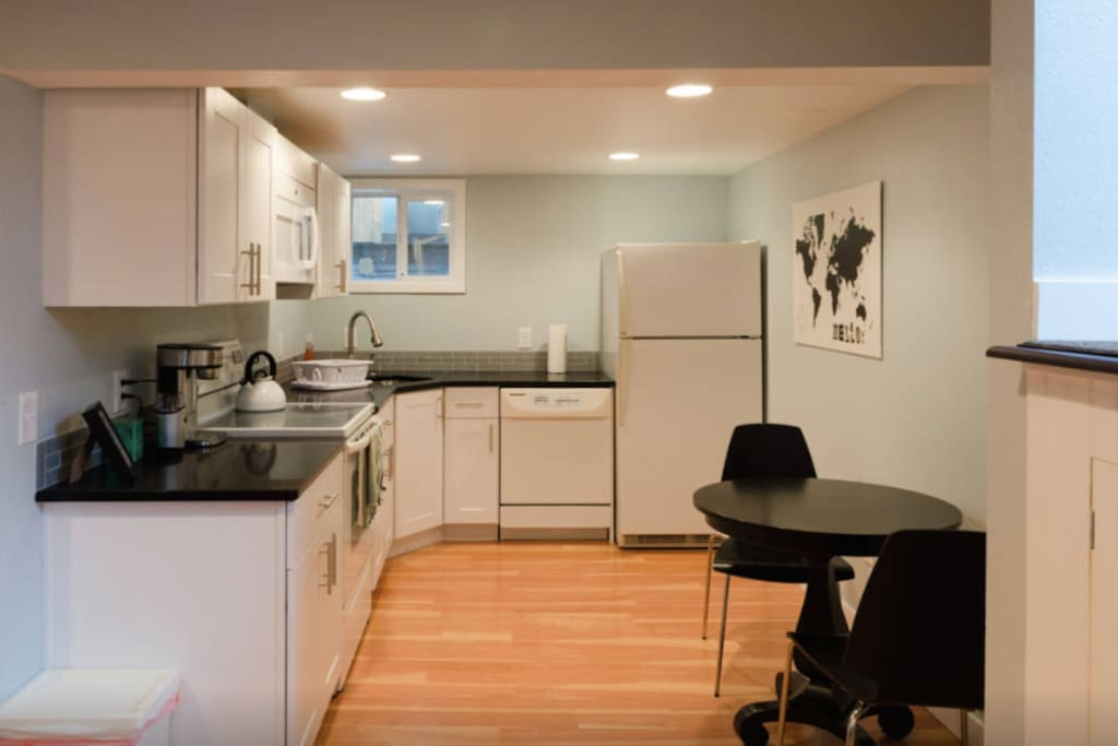 The modern kitchen is a great place to start the day.