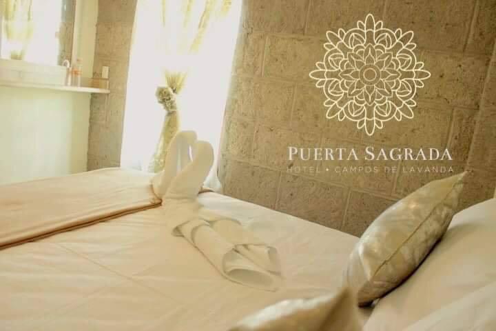 Puerta Sagrada | Hotel Campos de Lavanda