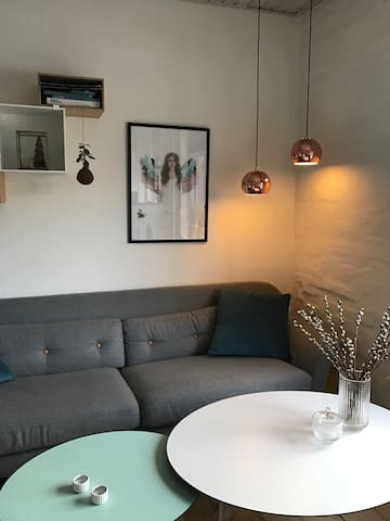 Velholdt hyggelig lejlighed!