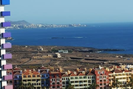 1st row sea view apartment - Adeje, Playa Paraiso  - Pis