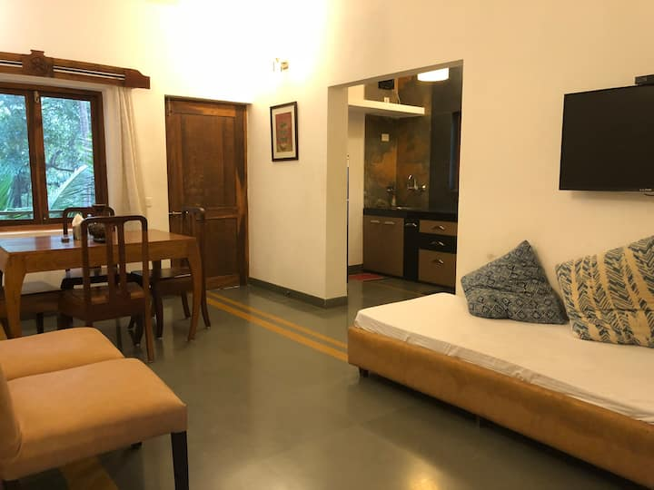 1 Bhk comfy serviced apartment in Mandrem