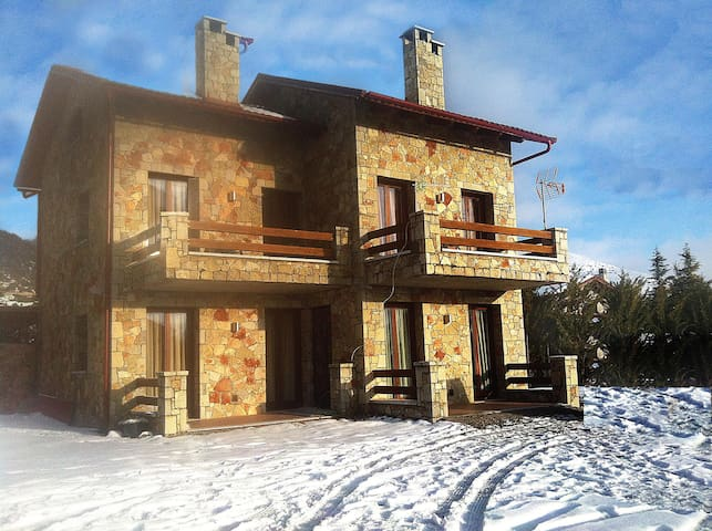 Luxury Stone House in Arachova near Delphi - Arachova - Chalet