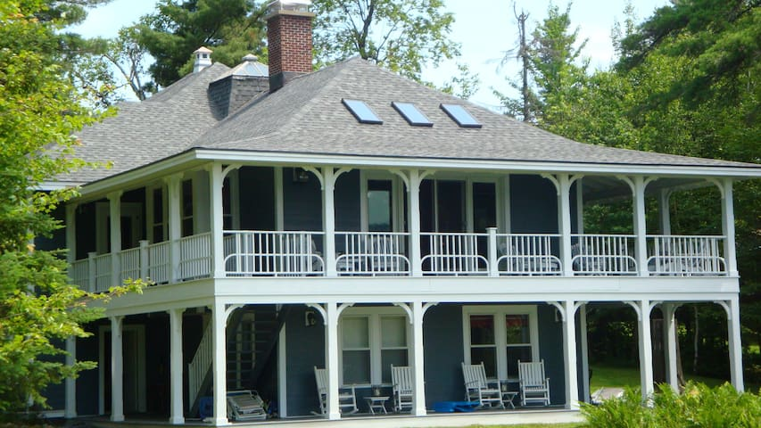 Lagoon House Main on Loon Lake - Vermontville