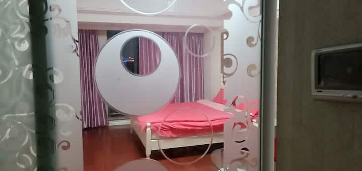 万达青苹果温馨大床房