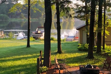 ★★★★★ Waterfront Cottage on Cloverleaf Chain