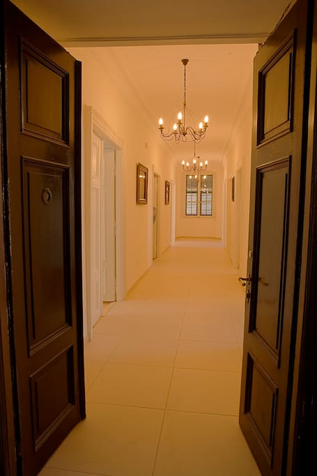 Grand Hallway within Apartment