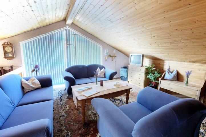 Pension Merbald (Beilngries), Doppelzimmer 2 - mit Terrasse
