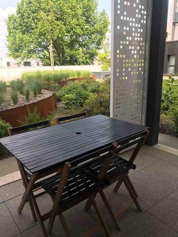Appartement centre ville Carquefou avec terrasse